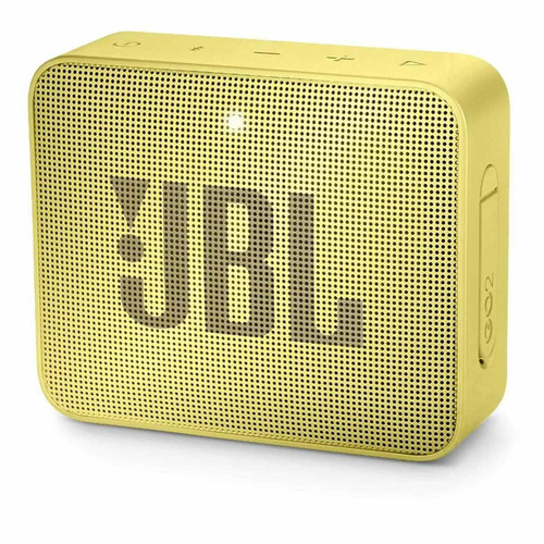 Alto-falante JBL Go 2 portátil com bluetooth lemonade yellow