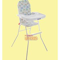 Silla Alta De Comer Para Bebe Infantil. Plegable Reforzada