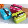 Marmiteira Marmita Lunch Box Pote Para Comida Microondas