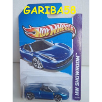Hot Wheels Ferrari 458 Spider 2013 #151 Showroom Series