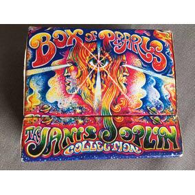 Cd Janis Joplin Box Of Pearls 5 Cds Impecável Igual A Novo!!