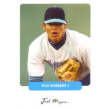 Barajita Felix Hernandez Just Rookie Marines 2003 Preview 3