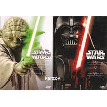 Star Wars Episodios 1 2 3 4 5 6 Paquete Peliculas Dvd