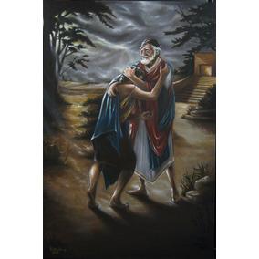 Hijo Prodigo, Pintura Al Oleo, Obra De Arte Original,