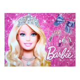 Barbie Painel De Festa Decoraçao Infantil Meninas 1,26x88cm