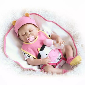 Boneca Bebê Reborn Dormindo 57cm Pronta Entrega Fotos Reais