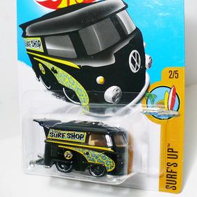 Hot Wheels Kool Kombi Surf Shop Moon Eyes Volkswagen - Preta