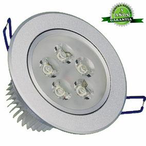 Lámpara Led Luz Dicroica 5 Watts (empotrable)