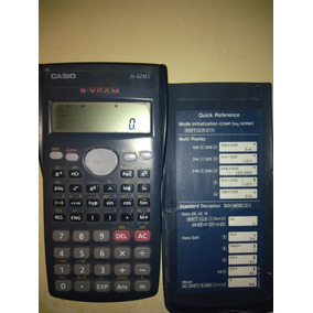 Calculadora Científica Casio Modelo Fx-82ms