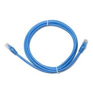 Cable Rj45 Patch Cord Cat6 3 Metros Certificado Azul