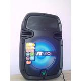 Bocina Amplificada Atvio 8 2000w Bluetooth, Microfono