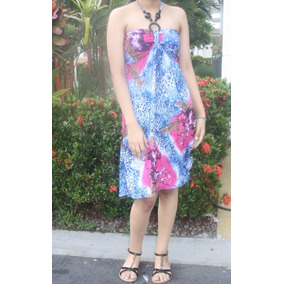 V1267 Vestido Casual Playero - Somos It Girls