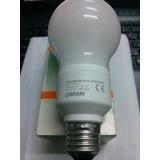 Lámpara Bajo Consumo Osram 8w Luz Calida Aleman