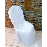 150 Capas P/ Cadeira Matelada Buffet Decoração De Microfibra