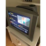 Tv Sony Trinitron 29 P.plana C/subwoofer, Increíble Sonido!
