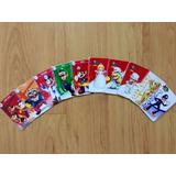 10 Tarjetas Nfc - Colección De Super Mario Odyssey Amiibo