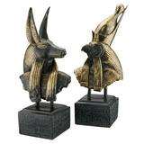 Diseño Toscano Dioses Del Antiguo Egipto Esculturas: An...