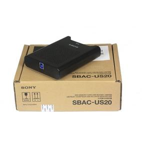 Gravador/leitor Cartão Memoria Sony Sxs Usb 3.0 Sbac-u20