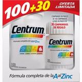 Centrum Multivitaminico X100+30 Comprim. Oferta Limitada!!