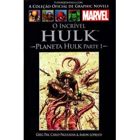 Planeta Hulk E Hulk Contra O Mundo. Leia A Descrição!