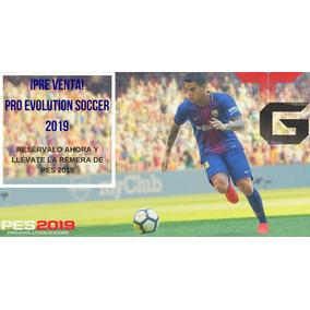 Preventa De Pro Evolution Soccer 2019 + Remera De Regalo