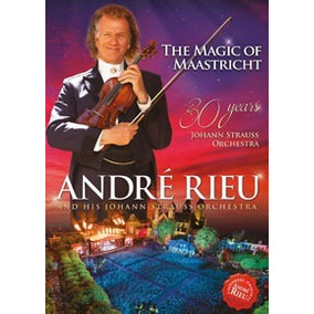 Andre Rieu The Magic Of Maastricht Dvd 30 Years Nuevo Stock