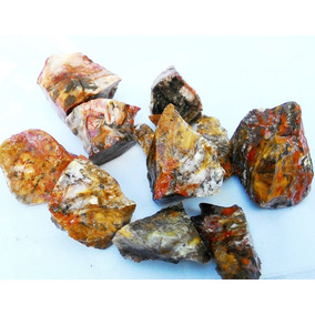 Pedra Jaspes Colecionador Variados Tipos Bruto 1,5kg