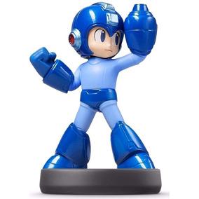 Mega Man Amiibo Smash Bros Nintendo Wii U 3ds Frete Grátis*