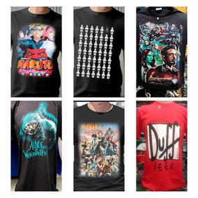 9519ce315 Kit 25 Camisa Camiseta Masculina Nerds Geek Estampada Top