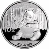 Robmar-china-panda 2017 De 30 Gramos Plata O,999+certificado