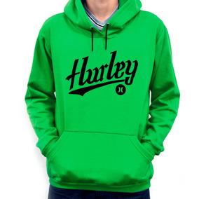 Moletom Hurley Masculinas Verde no Mercado Livre Brasil 32ff25e4022