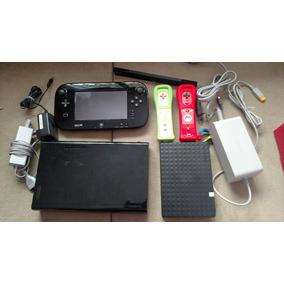 Nintendo Wii U 1tb Desbloqueado + 3 Controles