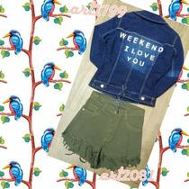 Campera De Jeans Wekeend I Love You