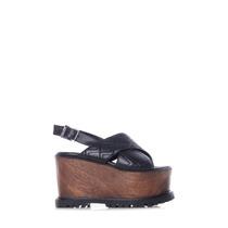 Sarkany Bour - Zapato Faja Mujer Cruzada Matelaseada