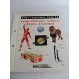 Enciclopédia Visual Banco Real E Globo Corpo Humano Animais