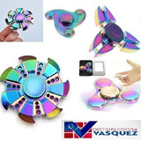 Fidget Hand Spinner Full Speed Premium Metalizado Antiestres