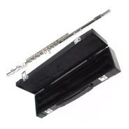 Flauta Transversal Jahnke Níquel Dó Jfl001 Nova Completa