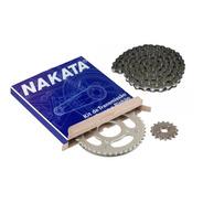 Kit Relação Transmissão Fazer/factor 150 Original Nakata