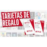 Card Itunes Netflix 1mes/ Tarjeta Regalo + Obsequio