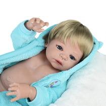 Bebe Reborn Inteiro Silicone A Pronta Entrega
