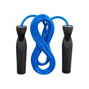 Cuerda Para Saltar Everlast Con Ruleman 2.5 Mts Azul