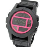 Reloj Nixon Unit Baja A489480 Temperatura 100 Wr Abrojo Tela