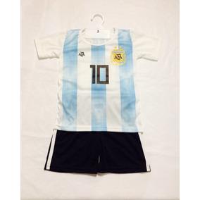 Conjunto Afa Argentina Messi Bebés