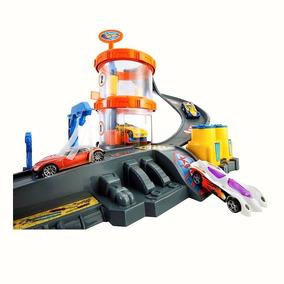Hot Wheels Tunel De Lavado Carros Pistas Niños Juguetes 3543