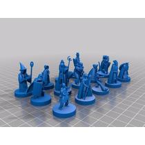 Miniaturas Para D&d Warhammer Rpg Rol Impresion 3d
