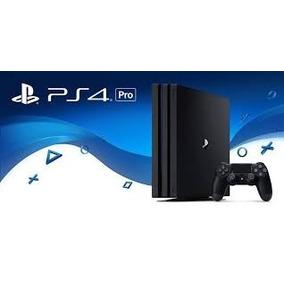 Ps4 Pro Sony 1 Tb 4k + 1 Juego + 2 Joystick + Envio Gratis