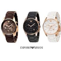 Relogio Emporio Armani Ar5919 Ar5905 Ar5890 + Caixa Original