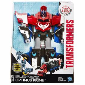 Transformers Robots In Disguise Mega Optimus Prime 3 Steps