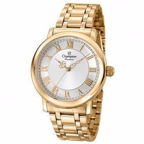 Relógio Champion Passion Masculino Dourado Cn29936h
