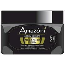 Amazoni Argila Negra Premium Máscara Reconstrutora 350g